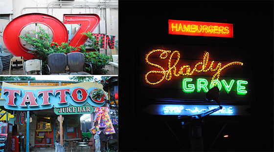 {just 3 of the many wonderful signs admired}